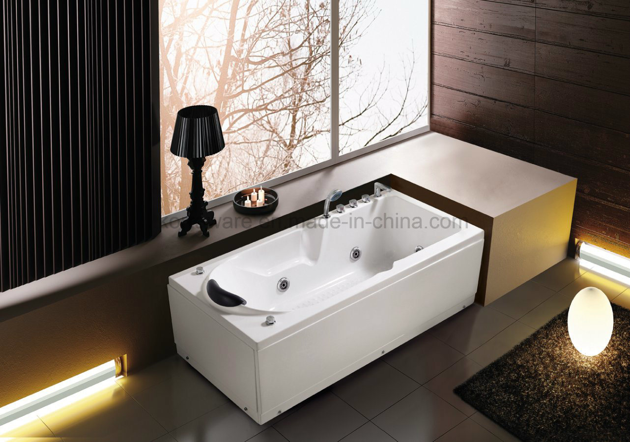 (K1242) Freestanding Acrylic Bathtubs / Massage Whirlpool Bathtubs