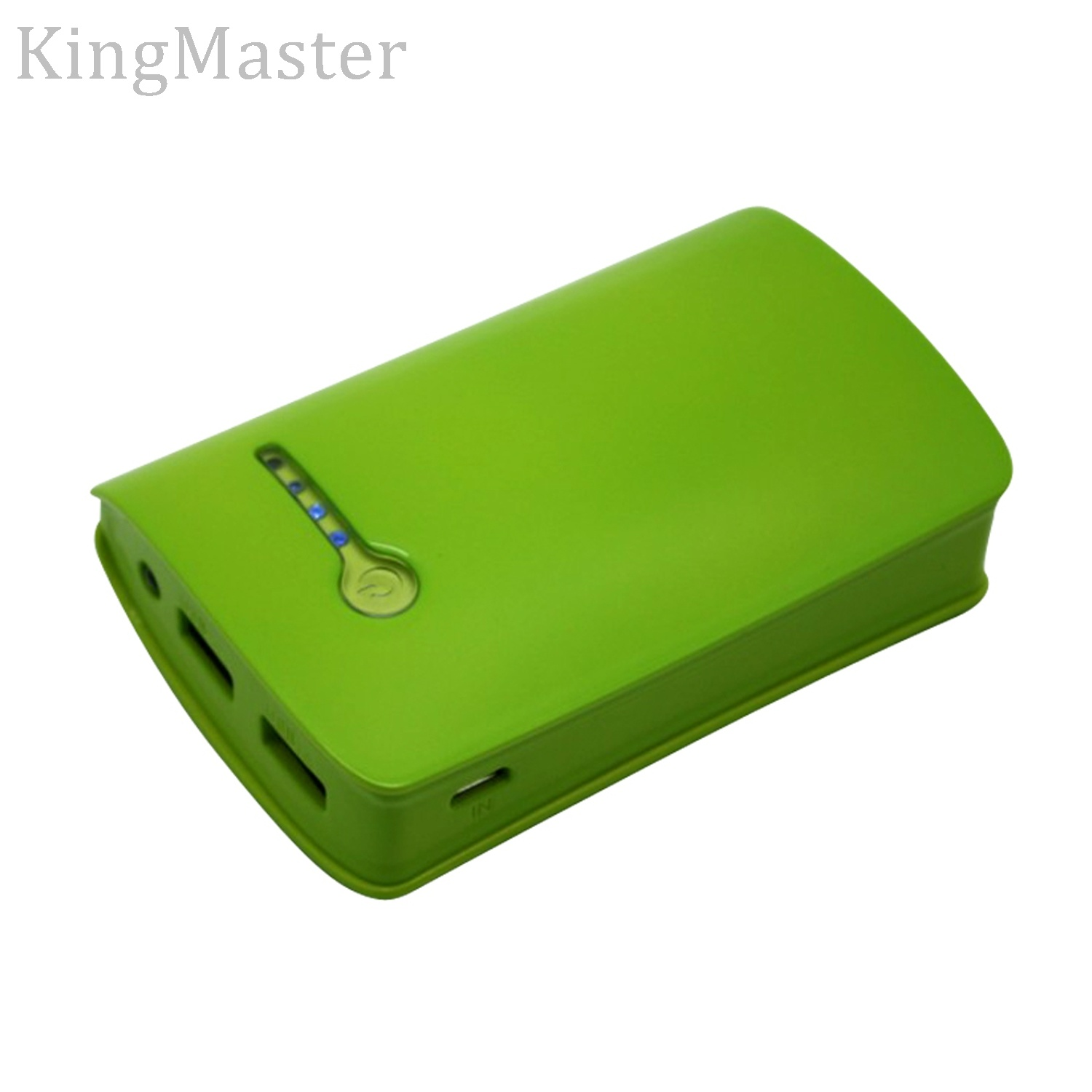 5200mAh Two Output Fast-Charging Plastic Power Bank with Cable