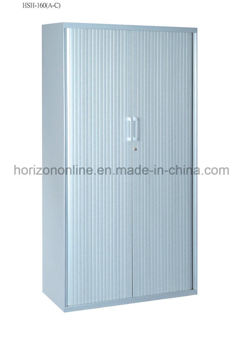 Metal File Cabinet with Roller Shutter Door and Adjust Shelves