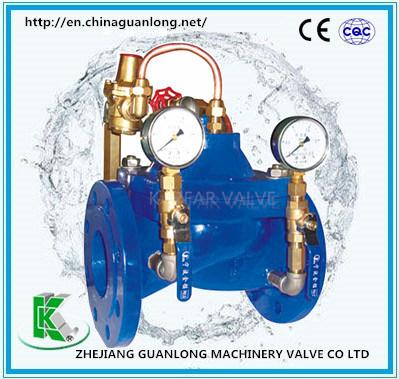 (420X) Automatic Oblique Adjustable Pressure Control Valve