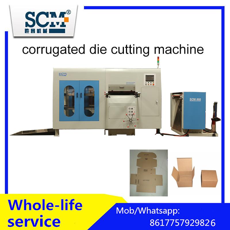 Automatic Die Cutting Machine for Corrugated Board