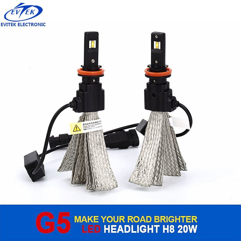 20W 2600lm 6000k Osram Chip H8 H9 H11 H16jp LED Head Light for VW Polo Headlight