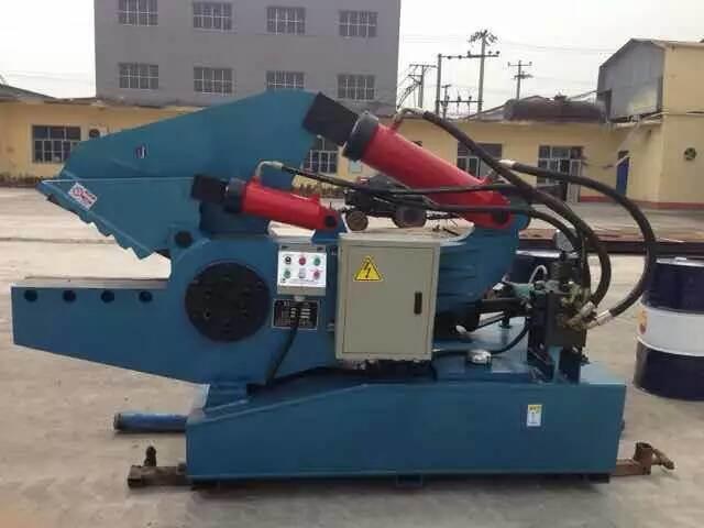 Crocodile Shear for Metal Scrap Steel Aluminum Shear Machine-- (Q08)