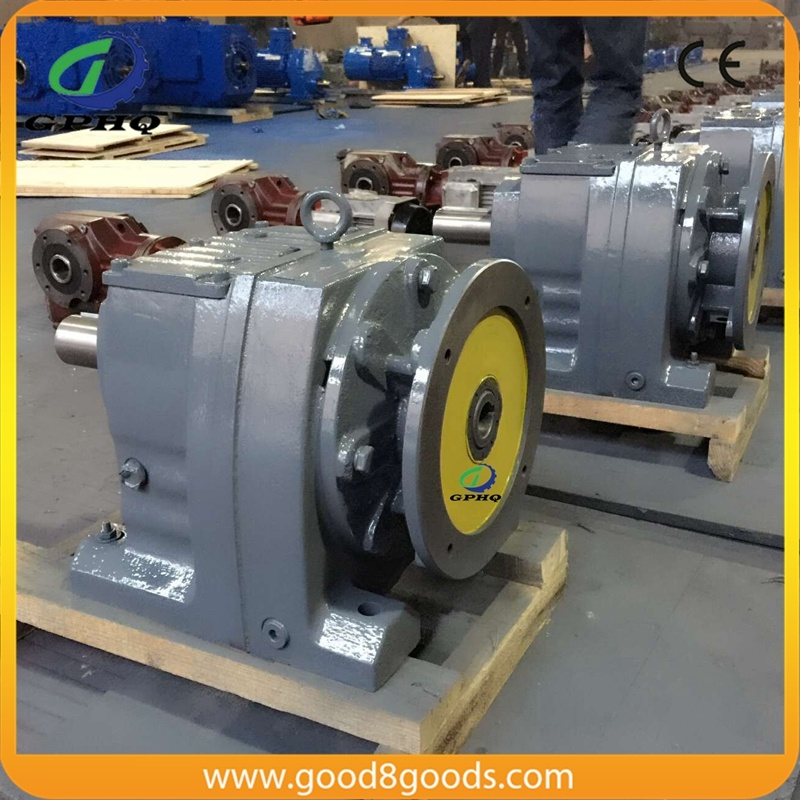 4 Poles Motor Speed Reduction Gearbox