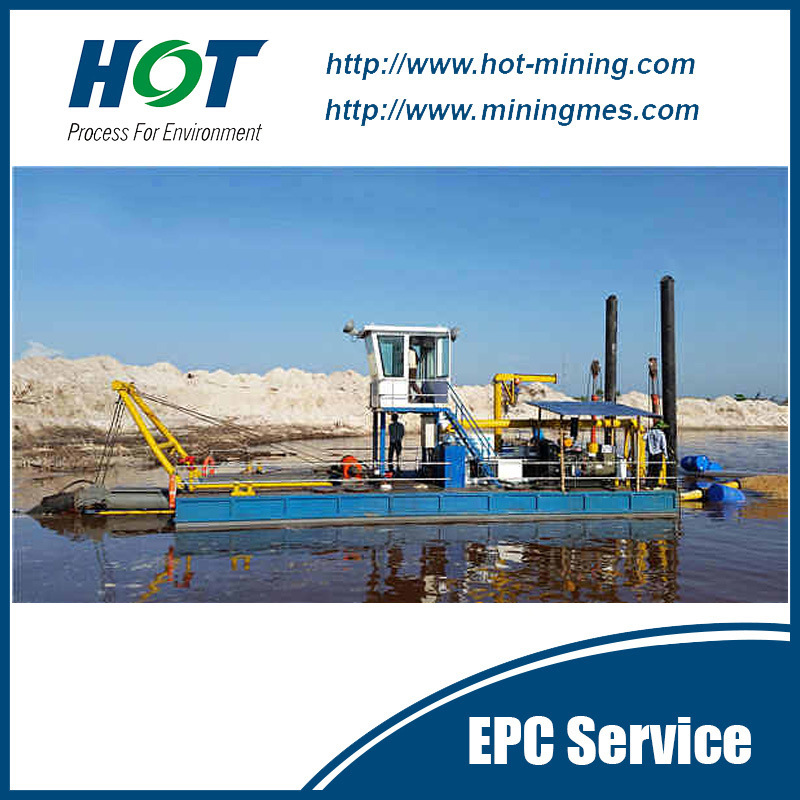 Mining Machine 10 Inch Cutter Suction Dredger