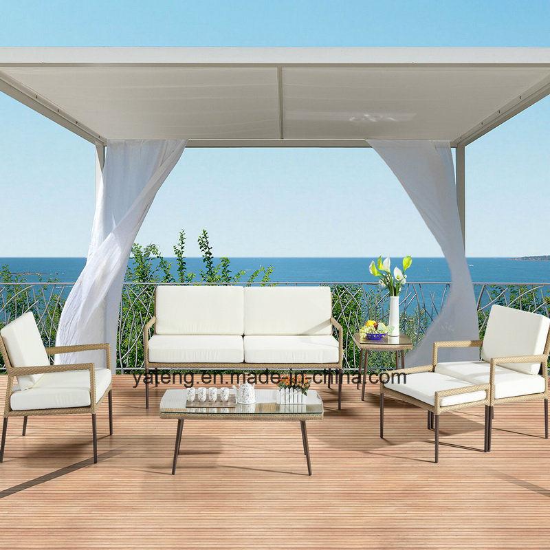 2017new Design Outdoor Furniture Patio & Hotel Using Garden Sofa Set