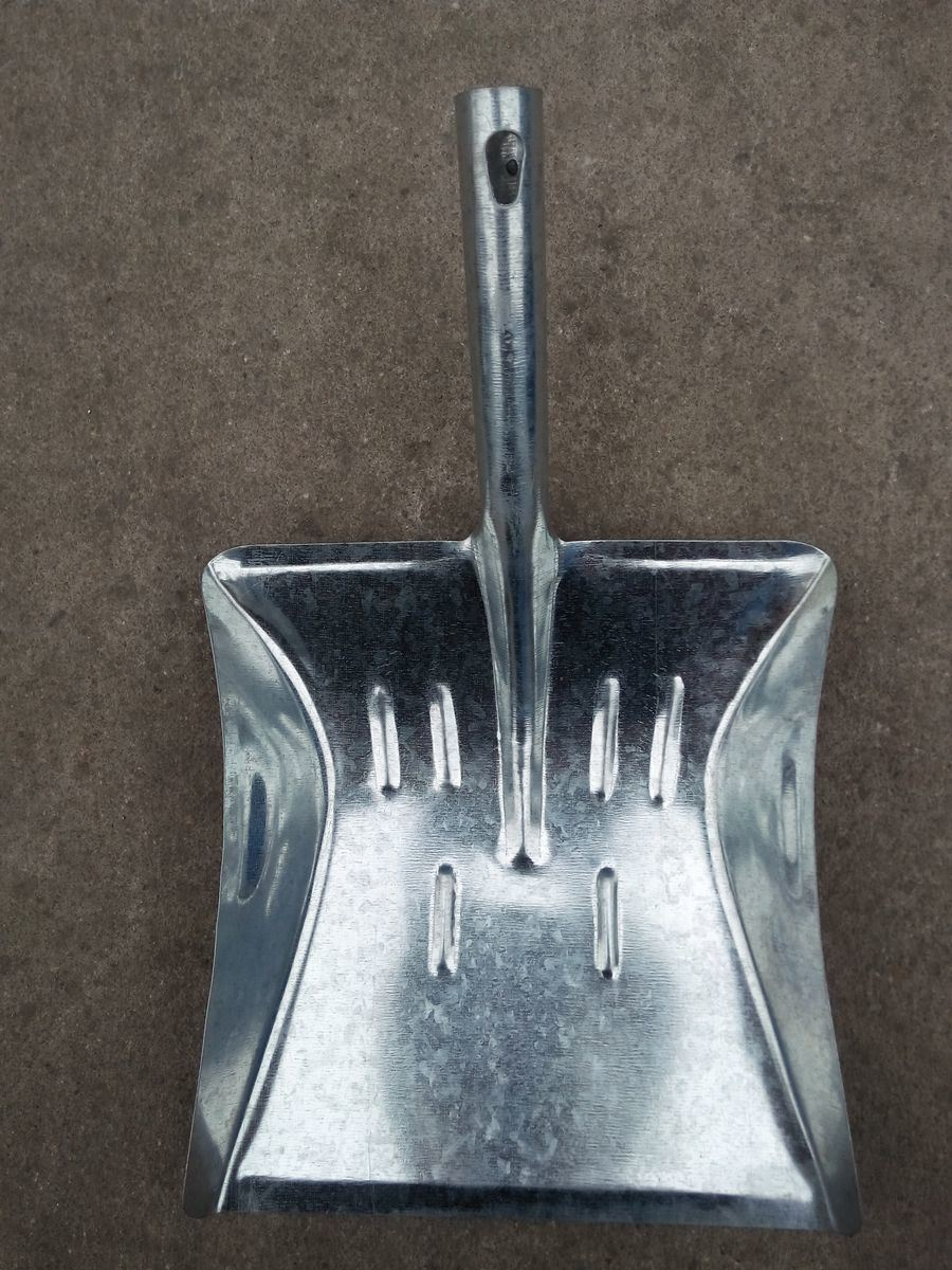 Galvanized Garden Dustpan with Short Handle S511