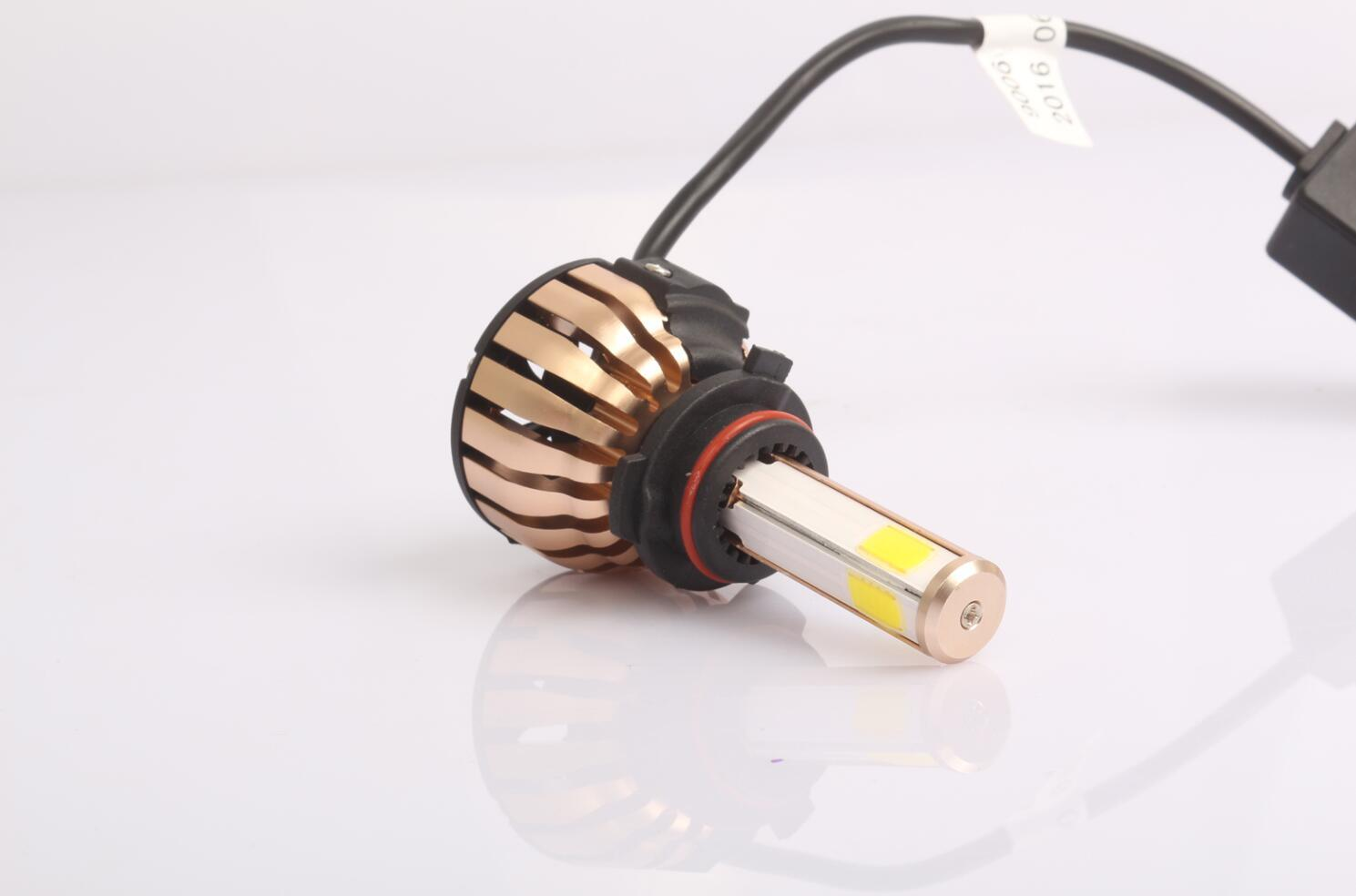 Hot Selling IP68 6000k 12V 24V 36W 4000lm High Low Beam High Power Auto Car H4 LED Headlight