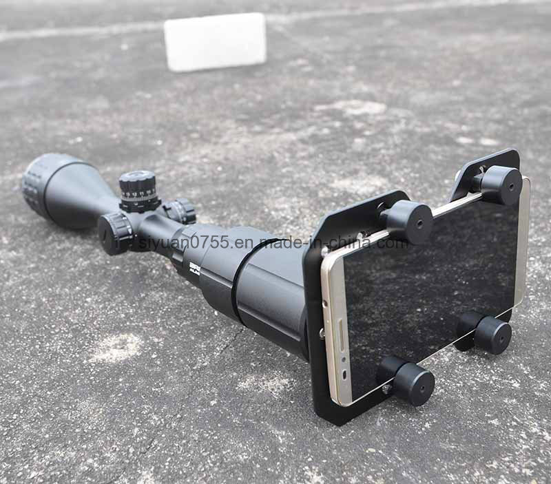 Rifle Scope Smart Phone Holder Mounting System Smart Shoot Scope Mount Adapter for Gun Scope Airgun Scope Display Record The Discovery Via The Phone