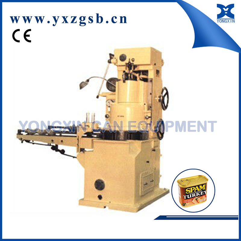 Automatic Food and Fish Tin Can Vacuum Seaming Machine Gt4b4