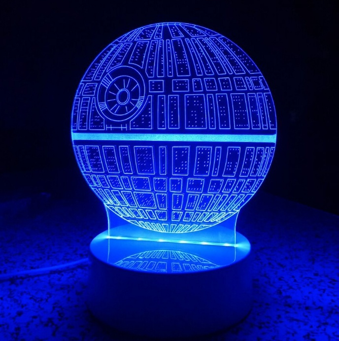Custom 3D LED Illusion Night Light