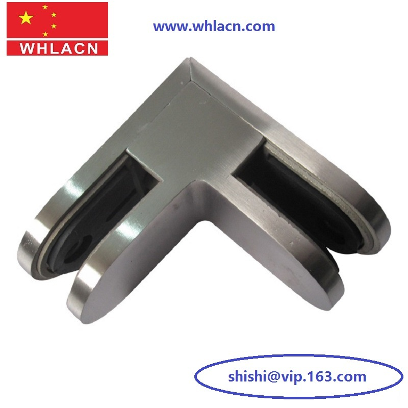 Stainless Steel Handrail Balcony Railing Balustrade Mounted Glass Clamp (Glass Fitting)