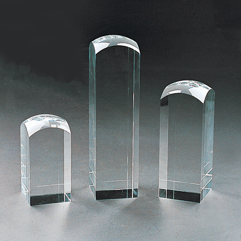 Blank Crystal Glass Block Cube