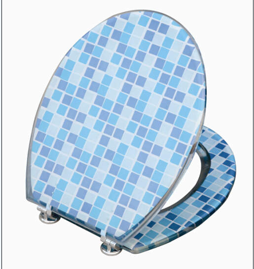 Mosaic Resin Toilet Seat (1607)