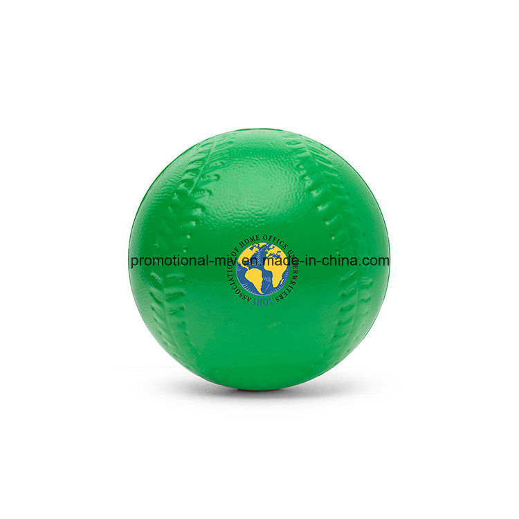 PU Stress Baseball-Shaped Ball for Promotional Gifts