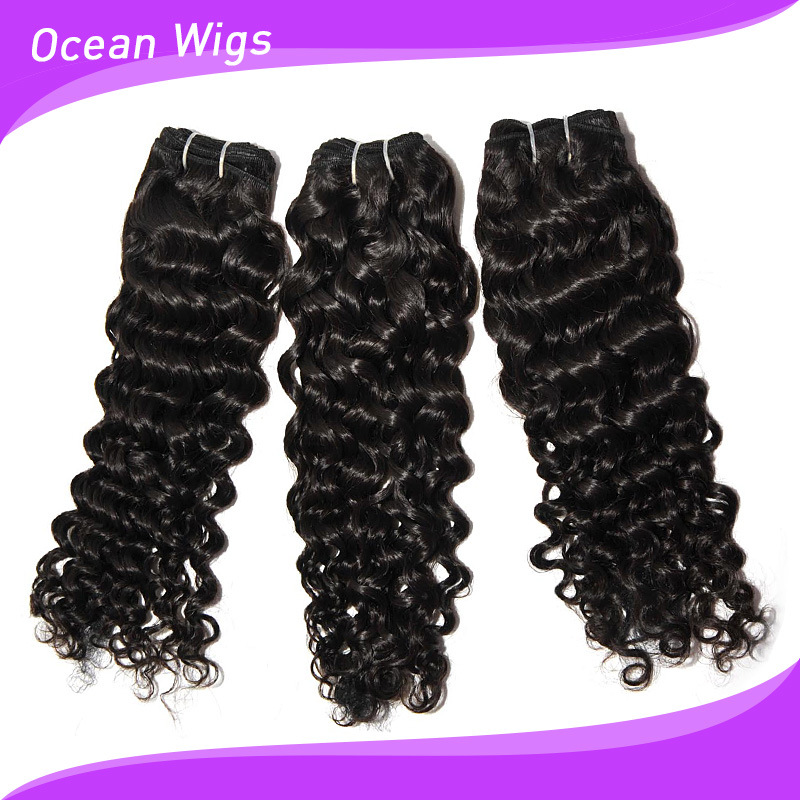 100 Human European Water Wave Hair Extension