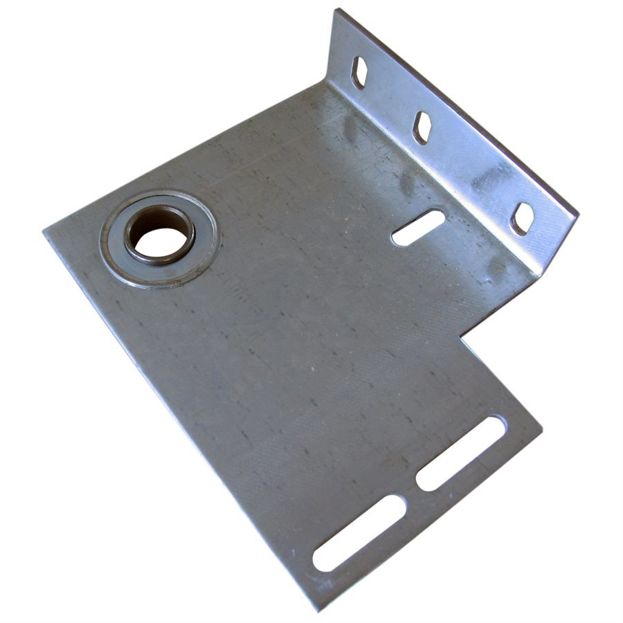 "End Plate- Flanged with 1"" Bearing / Garage Door Part"