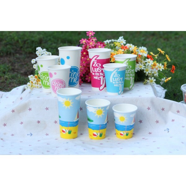20oz Cold Drinking Paper Cup for Cold Beverage