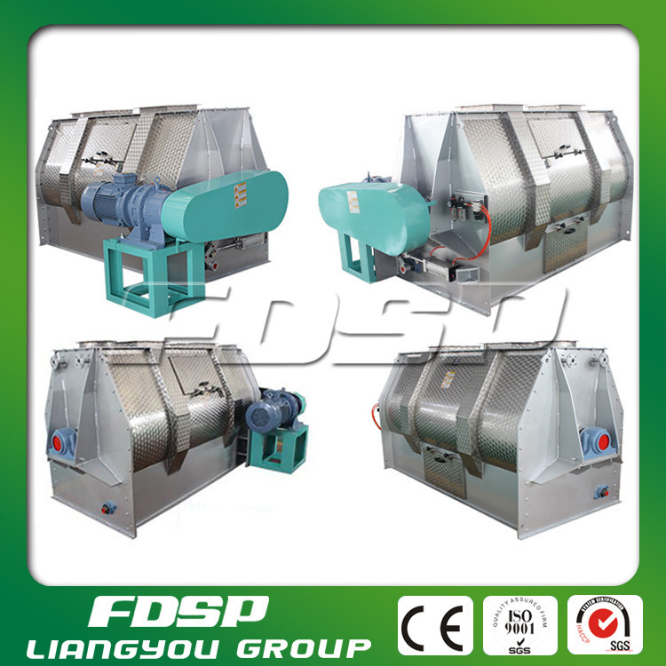 High-Profile Horizontal Single Shaft Fertilizer Mixer