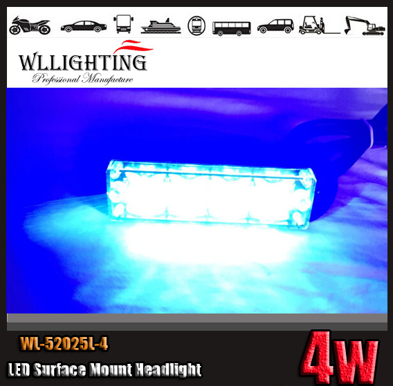 Super Bright LED Surface Mounting Grille Warning Light