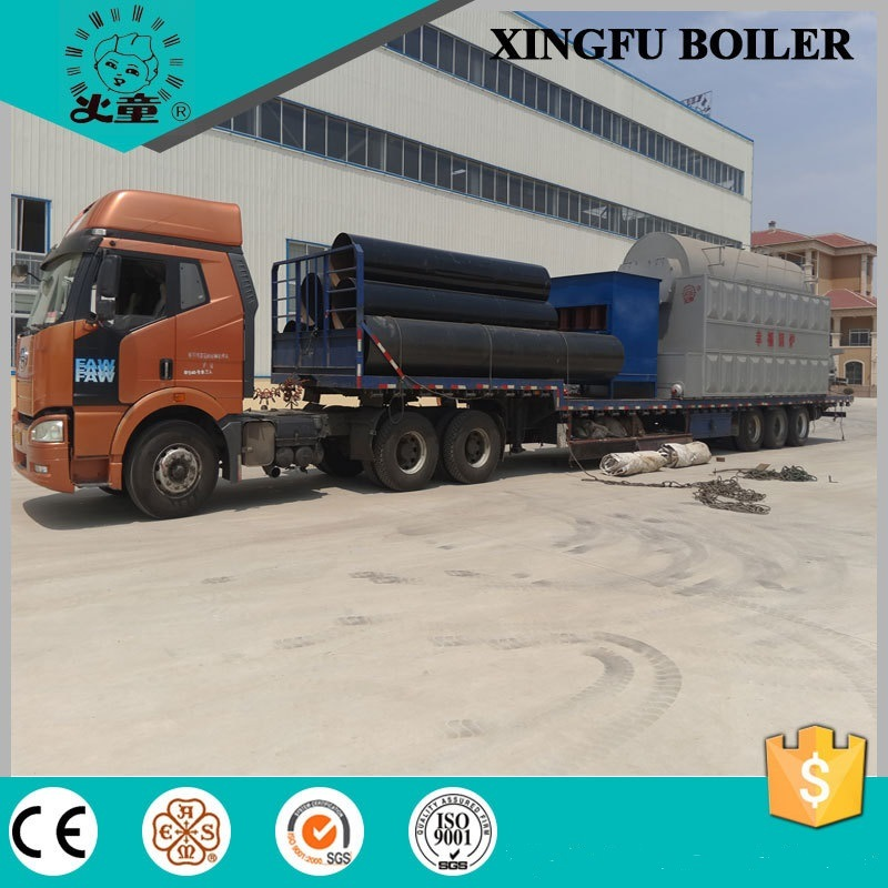 Dzl Series Chain Grate Coal Fired Hot Water Boiler