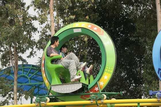 Theme Amusement Park Slides Interesting Sky Bike for Sale/Professional Amusement Equipment Factory
