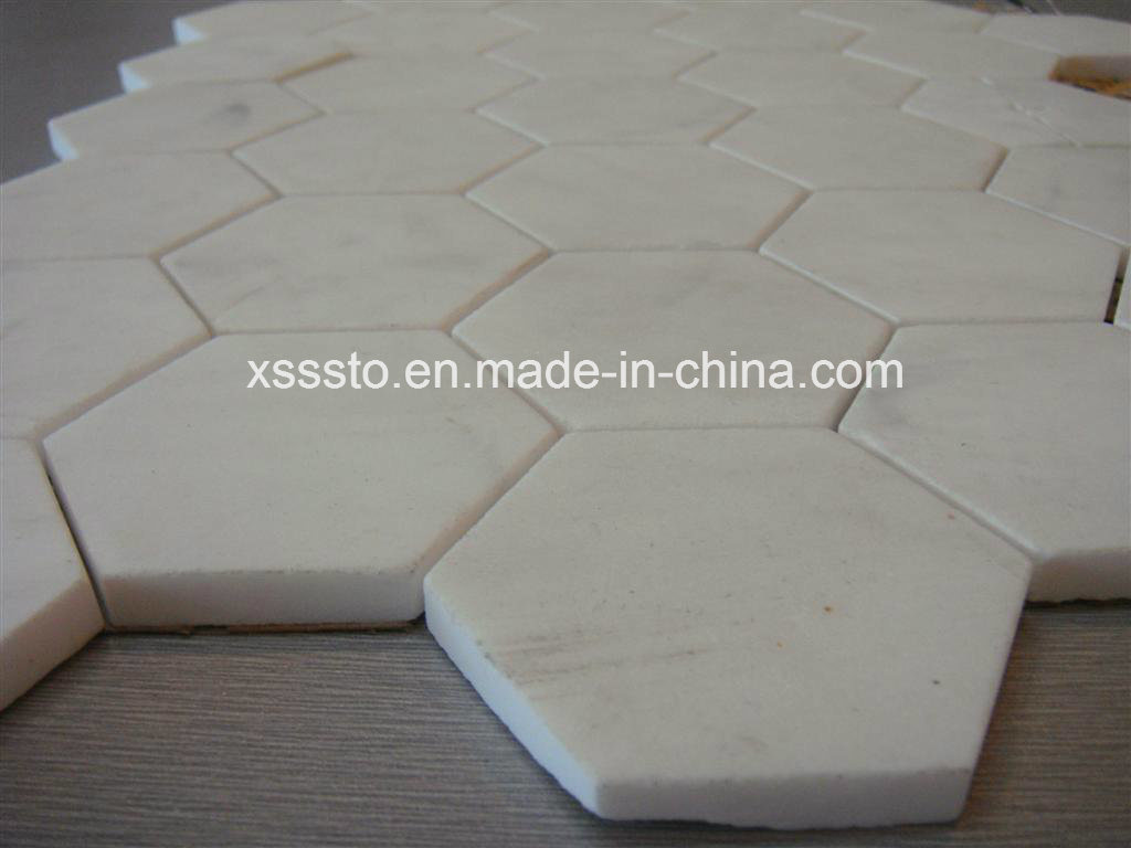 China hexagon marble mosaic pattern for floor tiles china wall china hexagon marble mosaic pattern for floor tiles china wall mosaic mosaic tiles dailygadgetfo Gallery