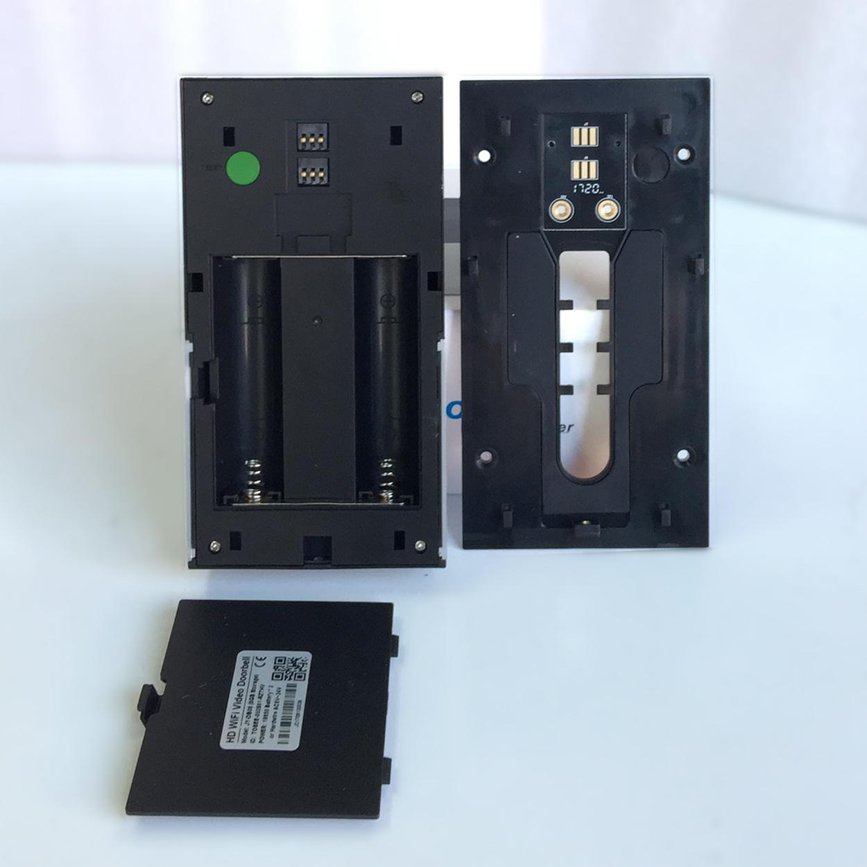 Two Way Intercom PIR Motion Door Phone WiFi Wireless Video Doorbell