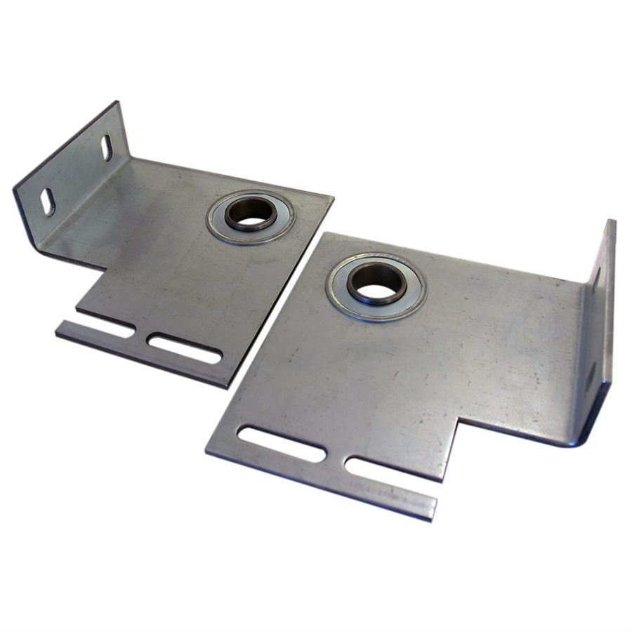 "End Plate - Flanged with 1"" Bearing / Metal Stamping Part"