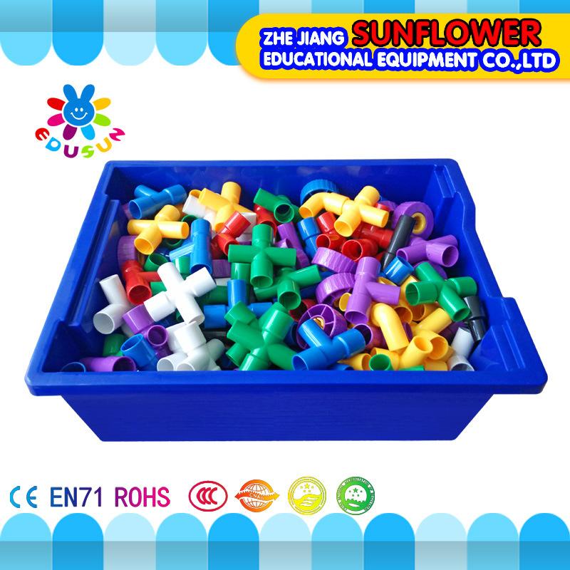 Building Blocks Toys Intellectual Toys, Colorful Plastic Desk Blocks Toy