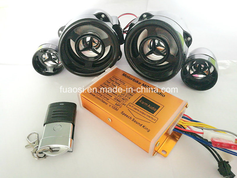 Motorcycle MP3 Audio with Electric Start and Fulll Waterproof Function