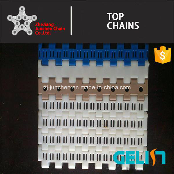900 B-2 Series Packing Machine Plastic Mash Chain Conveyor Belt for Food