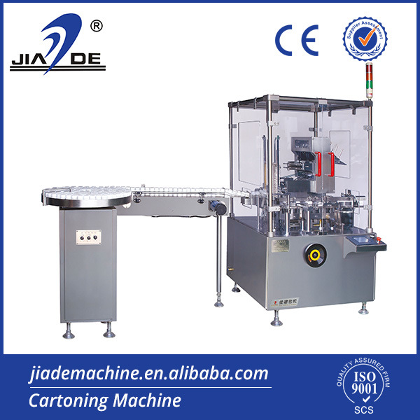 Fully Automatic Vial Cartoning Machine (JDZ-120P)