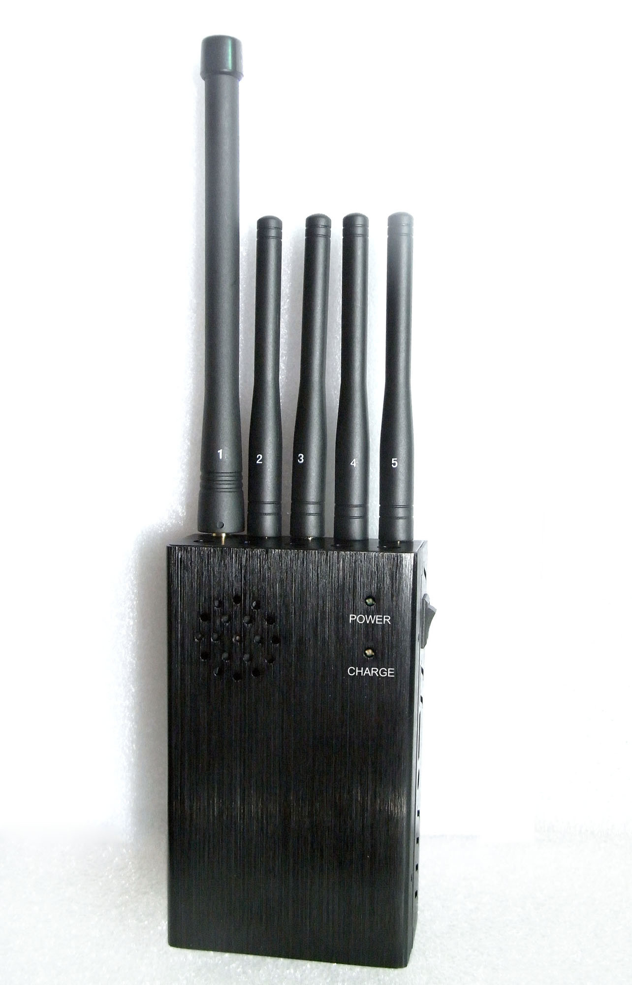 China New 5 Antenna 3G 4glte Wimax Wireless Signal Jammers, High Power Handheld Portable Cellphone Wireless Jammer - China 5 Band Signal Blockers, Five Antennas Jammers