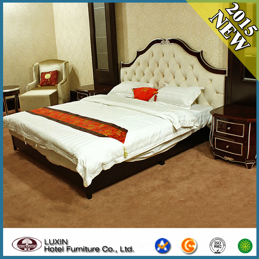 China Modern Wooden Hotel Bedroom Furniture Photos