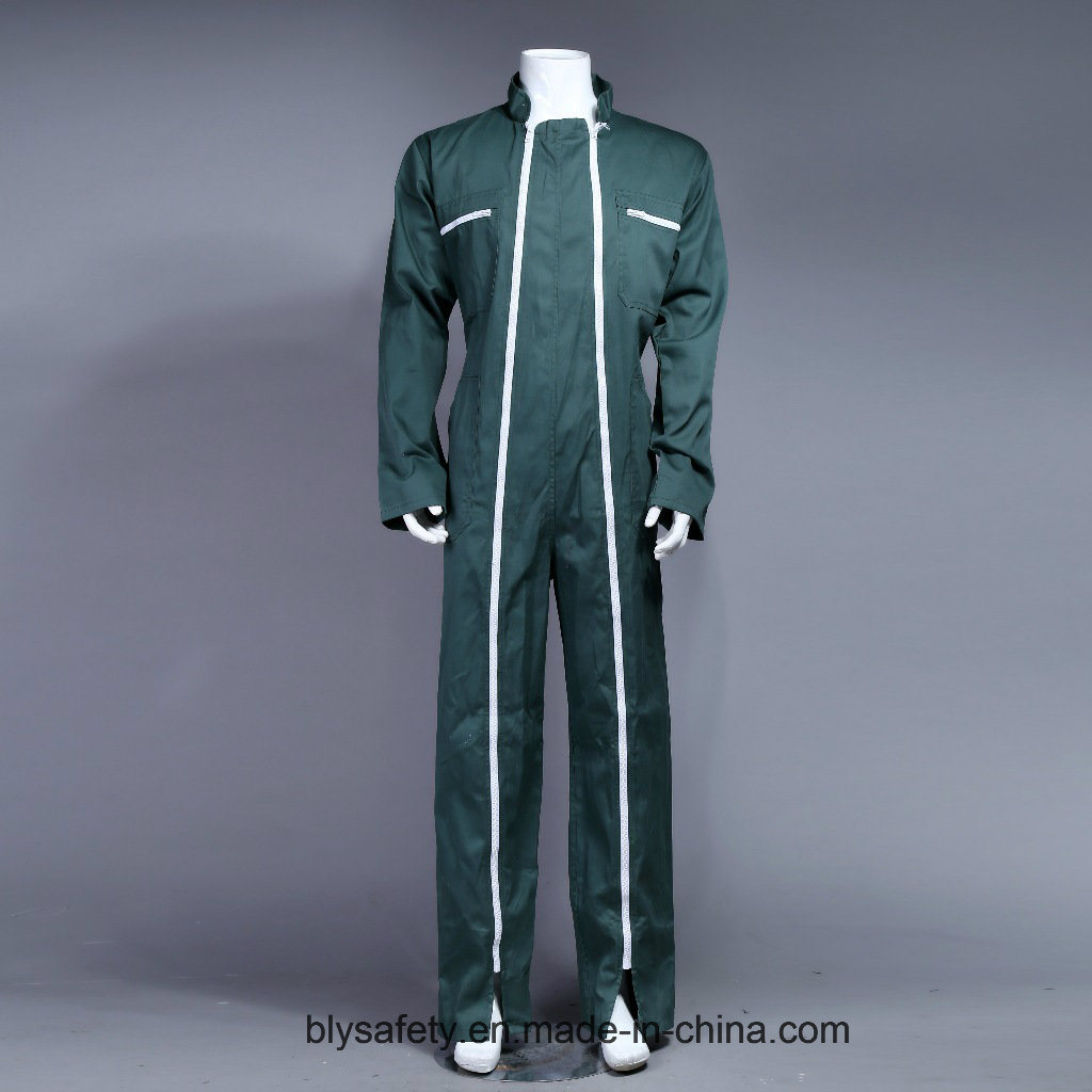 100% Polyester High Quality Cheap Dubai Safety Workwear Coverall (BLY1013)