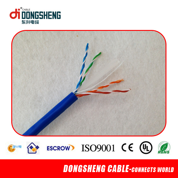 Manufacturer Since 1992 UTP/FTP/SFTP CAT6 LAN Cable/Network Cable with Cu/CCA/CCS