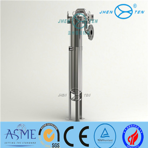 Ss304 Ss316 Pre Filtering Top Entry Bag Filter