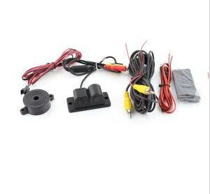 2 in 1 Car Reverse Camera Parking Sensor System