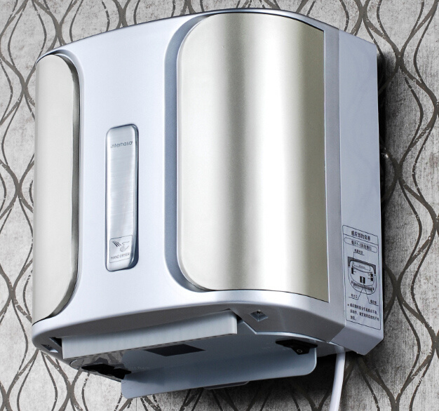 Double Jet High Speed Airblade Hand Dryer in Public