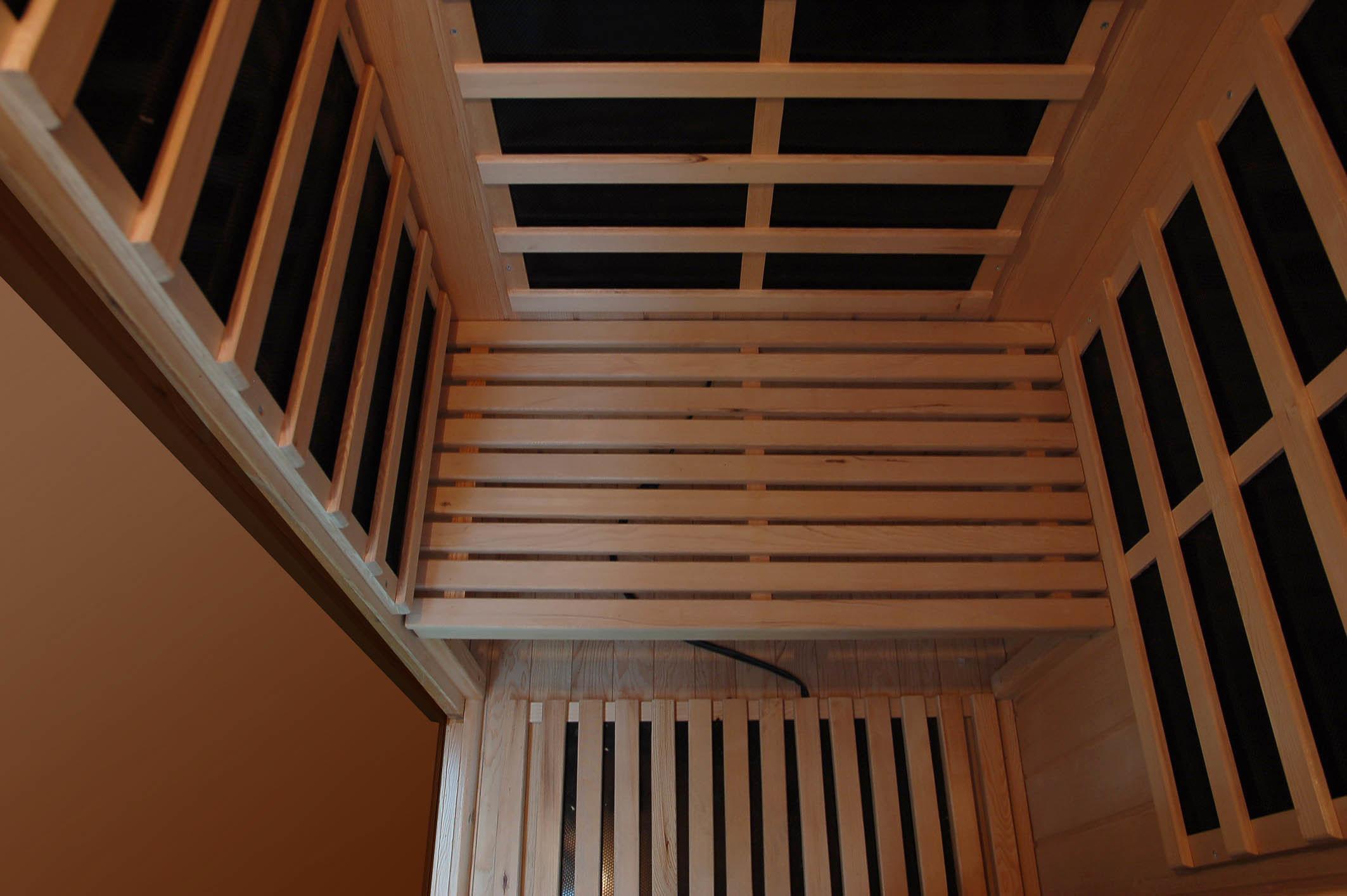 2016 New Hemlock Far Infrared Sauna Room with Carbon Heater