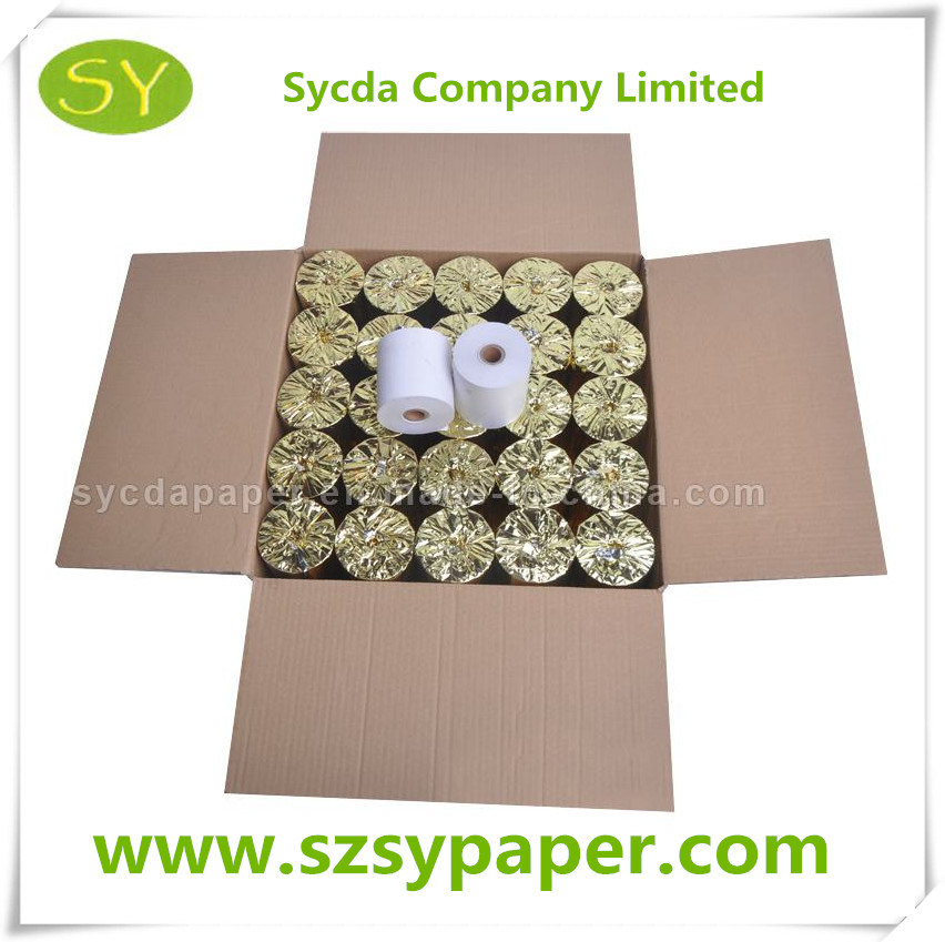 Factory Price Copy Paper Good Thermal Paper for Bank ATM System
