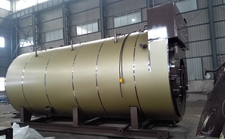 Industrial Gas Fired Condensing Bearing Hot Water Boiler