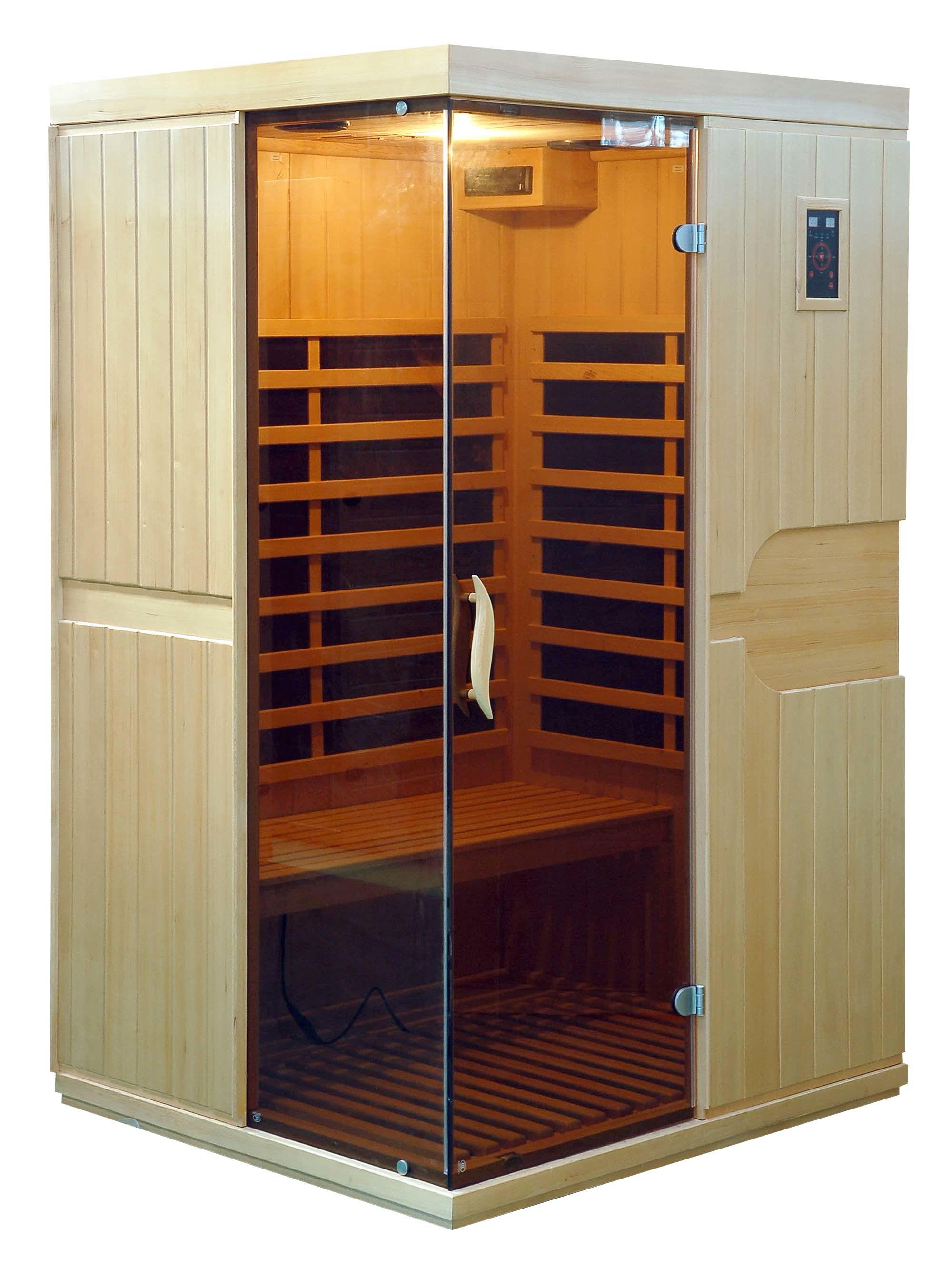 016new Hemlock Far Infrared Sauna Room with Carbon Heater