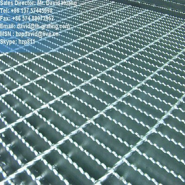 Galvanized Standard Steel Grating for Grating Fabrication