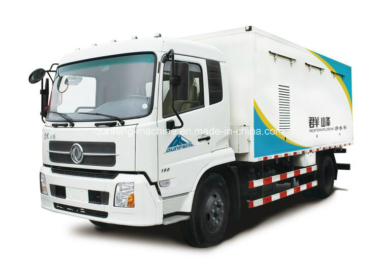 Mqf5160xjsd4 Mobile Water Purification Truck