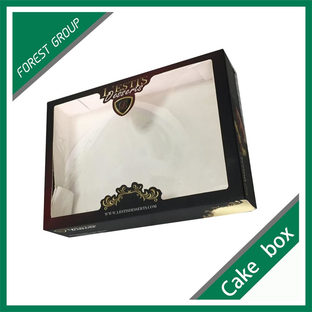 Custom Color Printed Cardboard Box with PVC Window