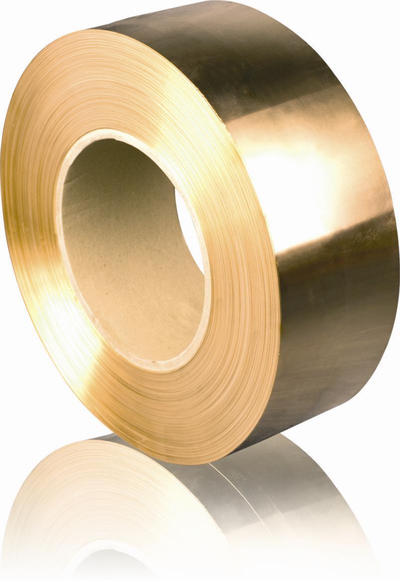 Brass Steel Composite Strip H65/C27000
