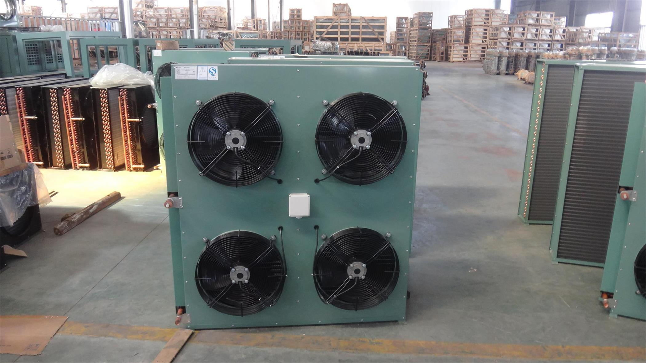 China Hot Sale Fin Type Cooper Tube Air Cooled Condenser for Cold Room