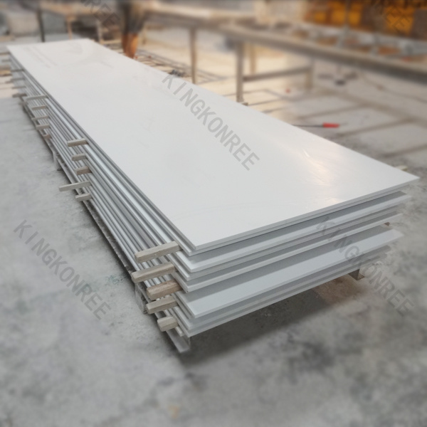 Building Material Artificial Marble White 12mm Acrylic Solid Surface (M1705261)